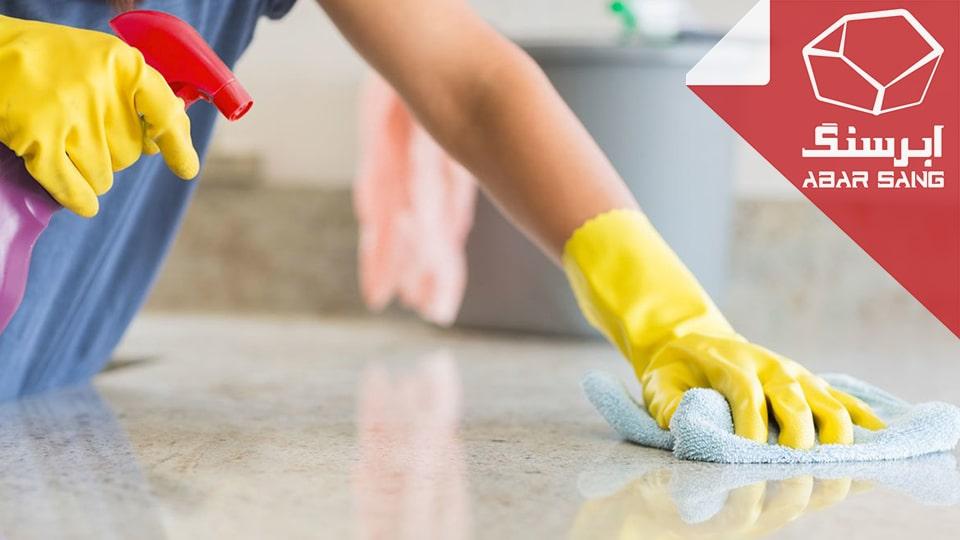 نحوه پاک کردن لکه از روی سنگ (روش خانگی و ساده)