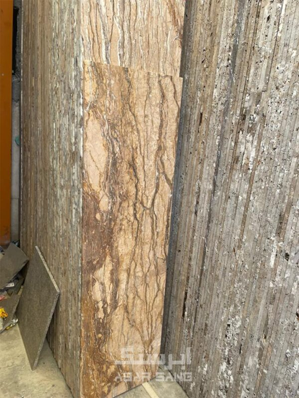 تراورتن تنه درختی آذرشهر