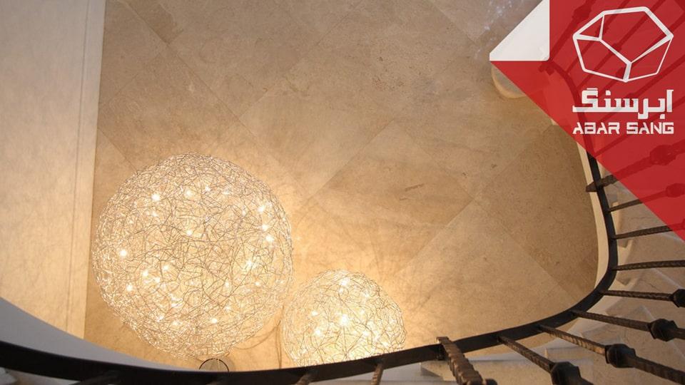 ساختار متخلخل انواع سنگ تراورتن
