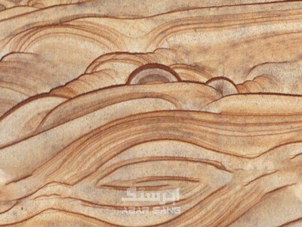 سند استون طرح چوب